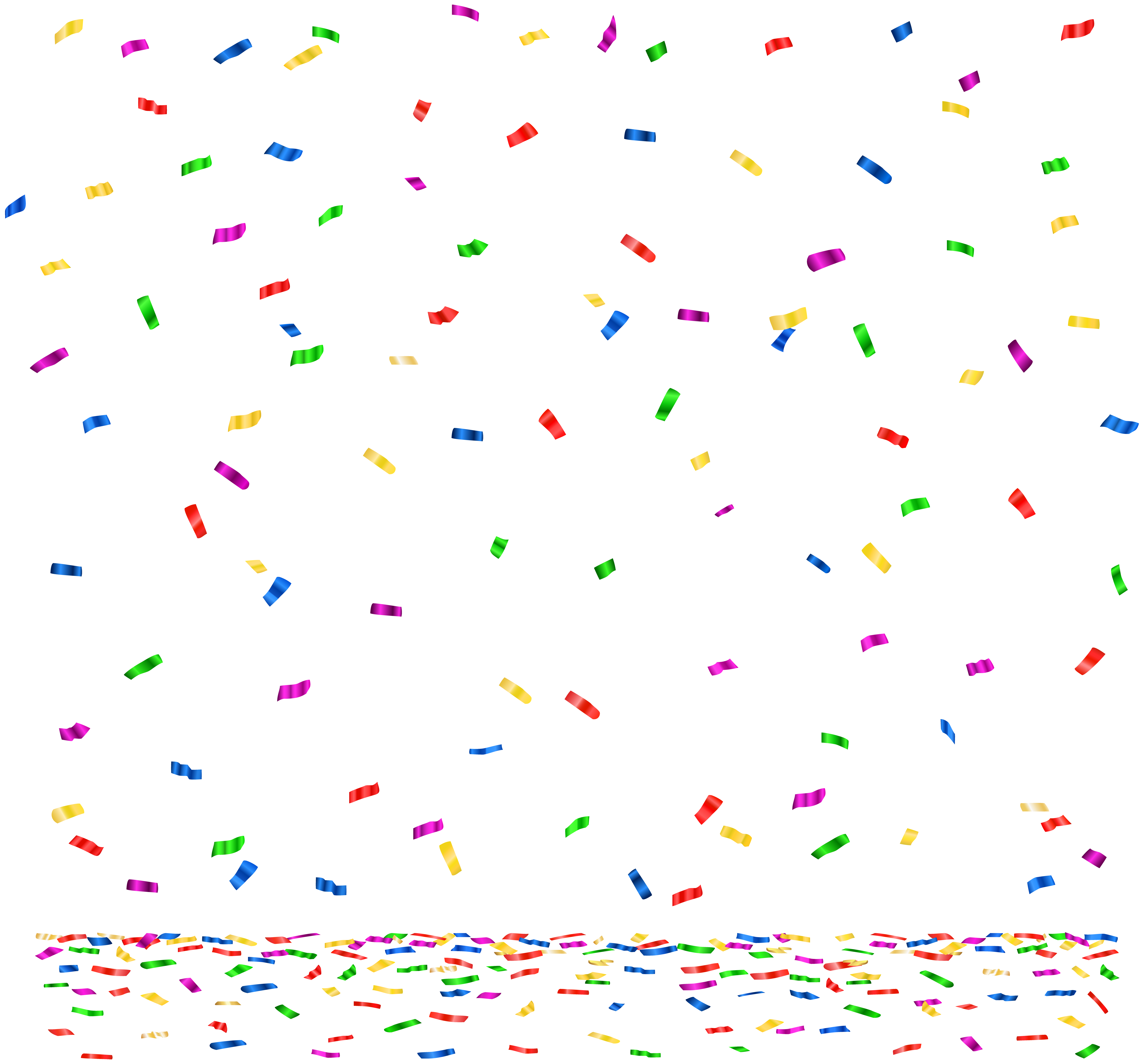 Confetti clipart.  collection of transparent