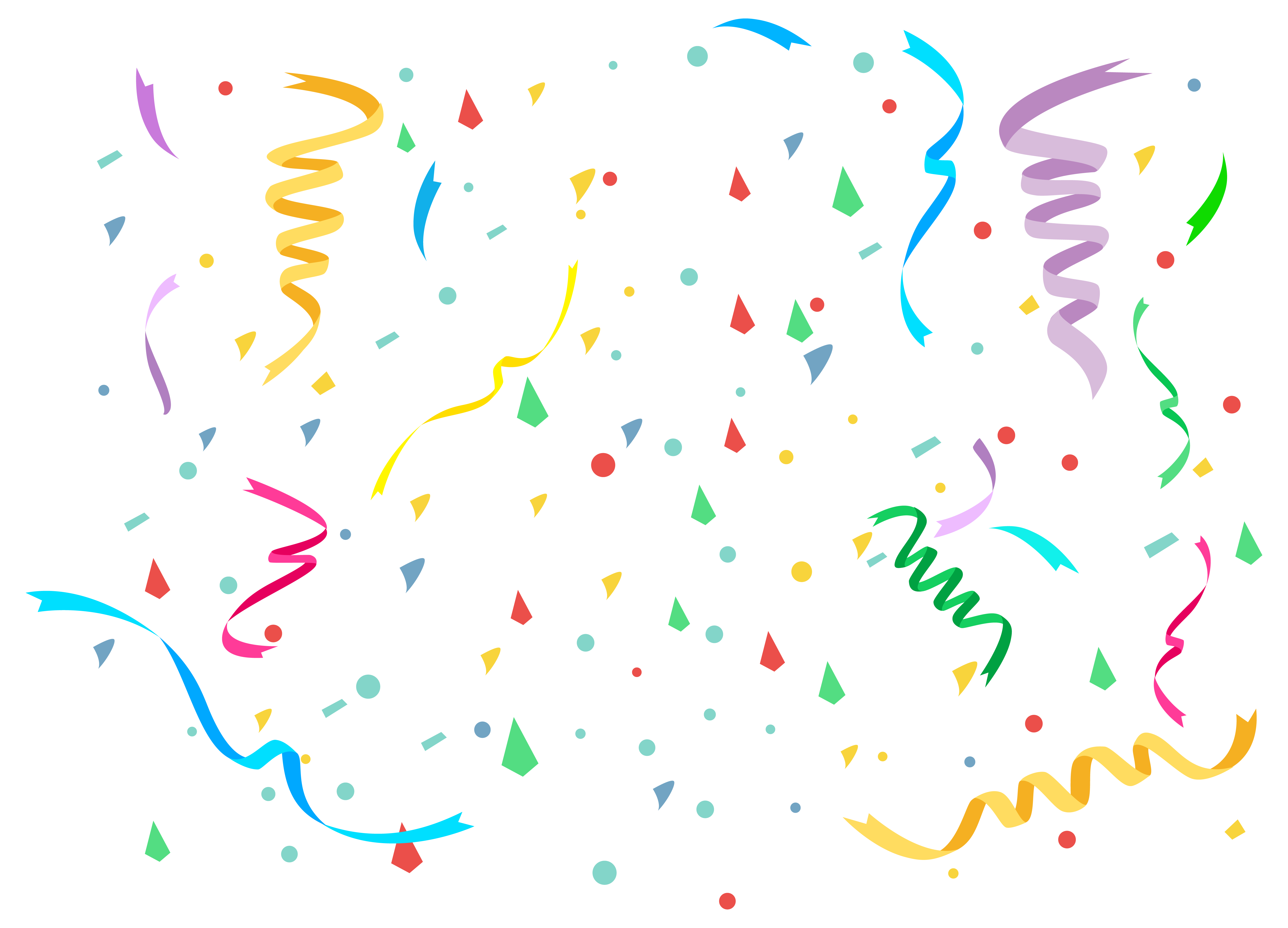 Birthday clipart confetti. Png image gallery yopriceville