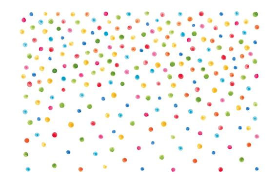 Confetti clipart.  watercolor cliparts