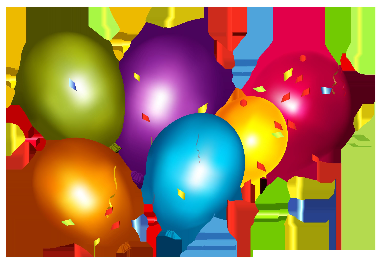 Party hat clip art. Confetti clipart balloon confetti