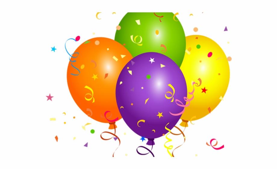 Confetti clipart balloon confetti. Mexican free birthday balloons