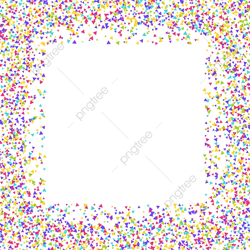Balloon balloons background png. Confetti clipart border transparent