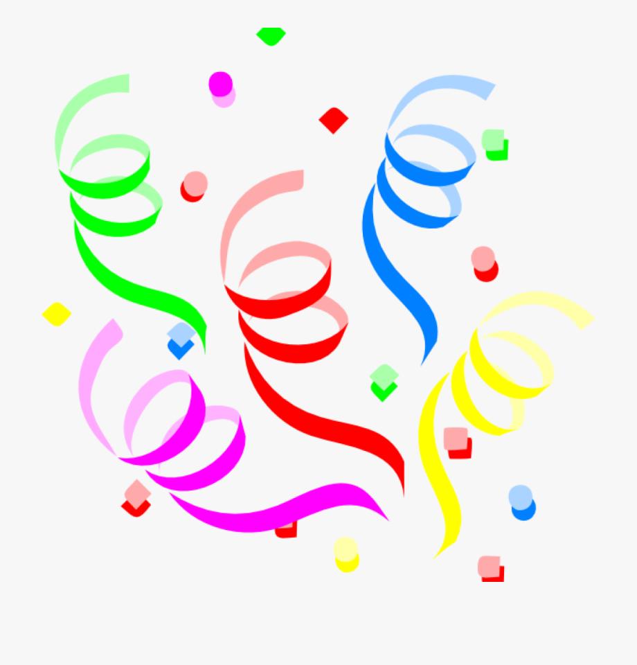 Clip art . Streamers clipart confetti explosion