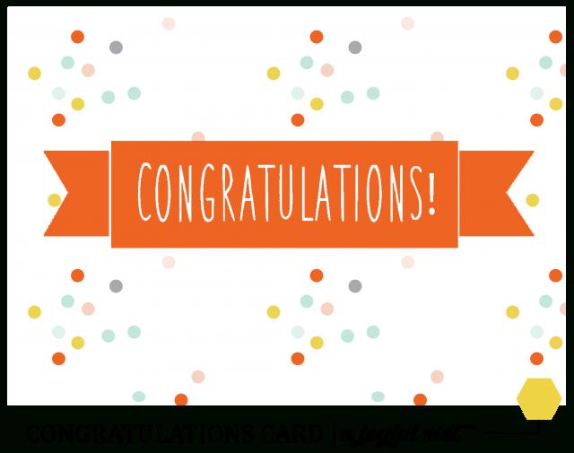 Confetti clipart congratulation. Free printable congratulations cards