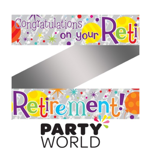 Congratulations on your retirement. Streamers clipart congratulation