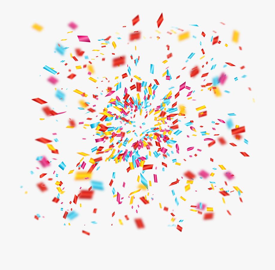 Clip art celebrate fireworks. Firework clipart confetti