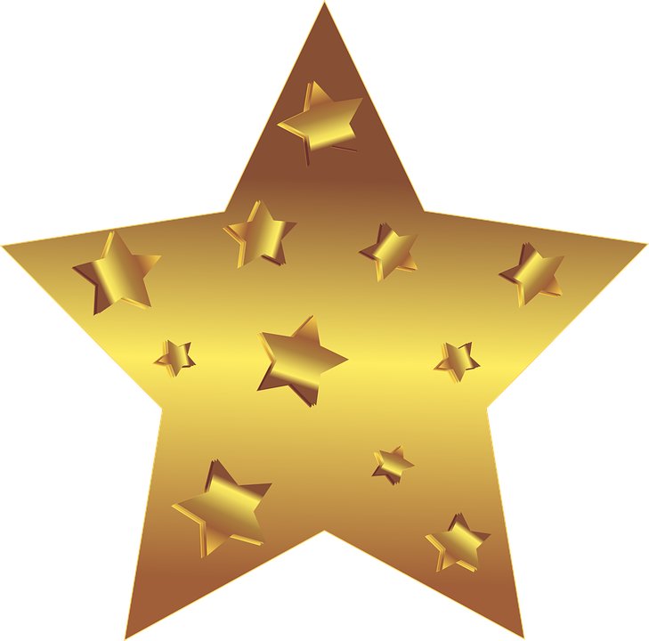 Confetti clipart gold star. Images of stars wallpapers