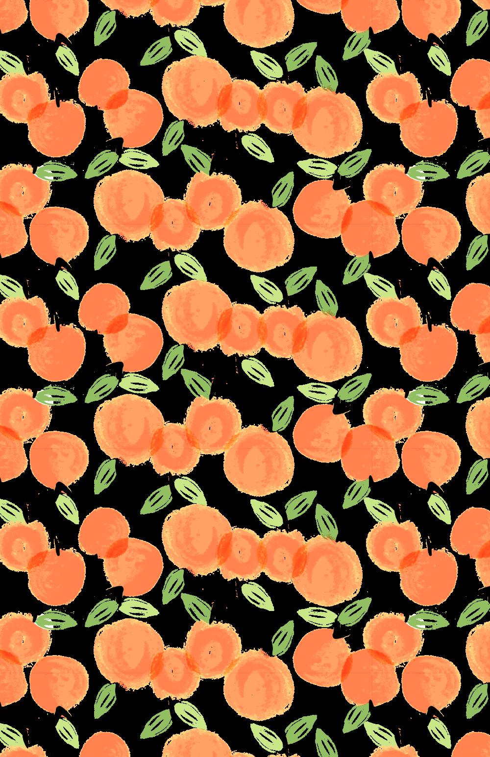 Adorable little print would. Notebook clipart orange