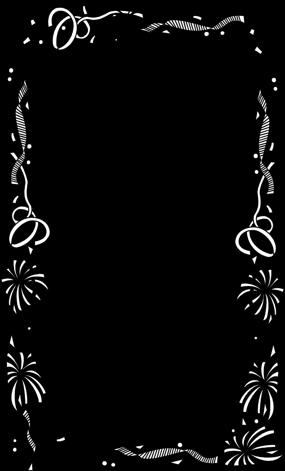 Illustration of a blank. White clipart confetti
