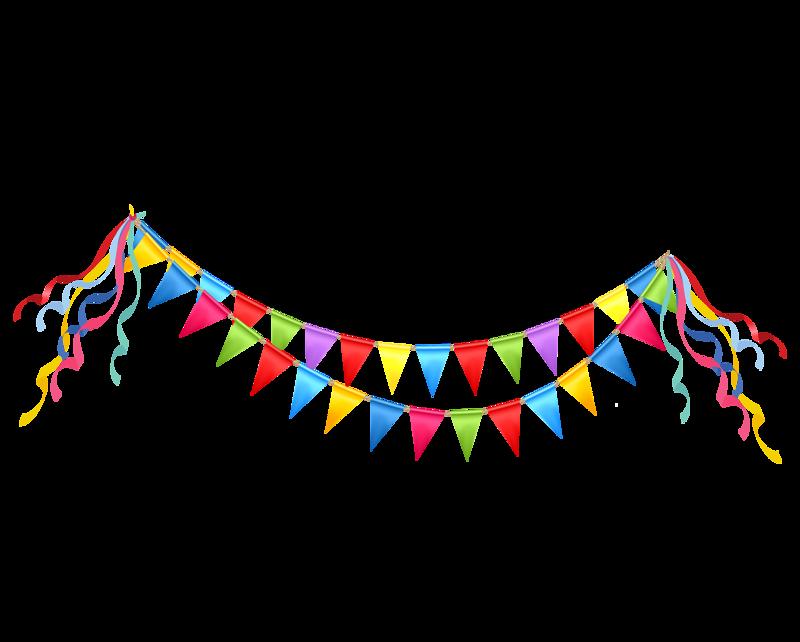 dlat net b. Streamers clipart party horn