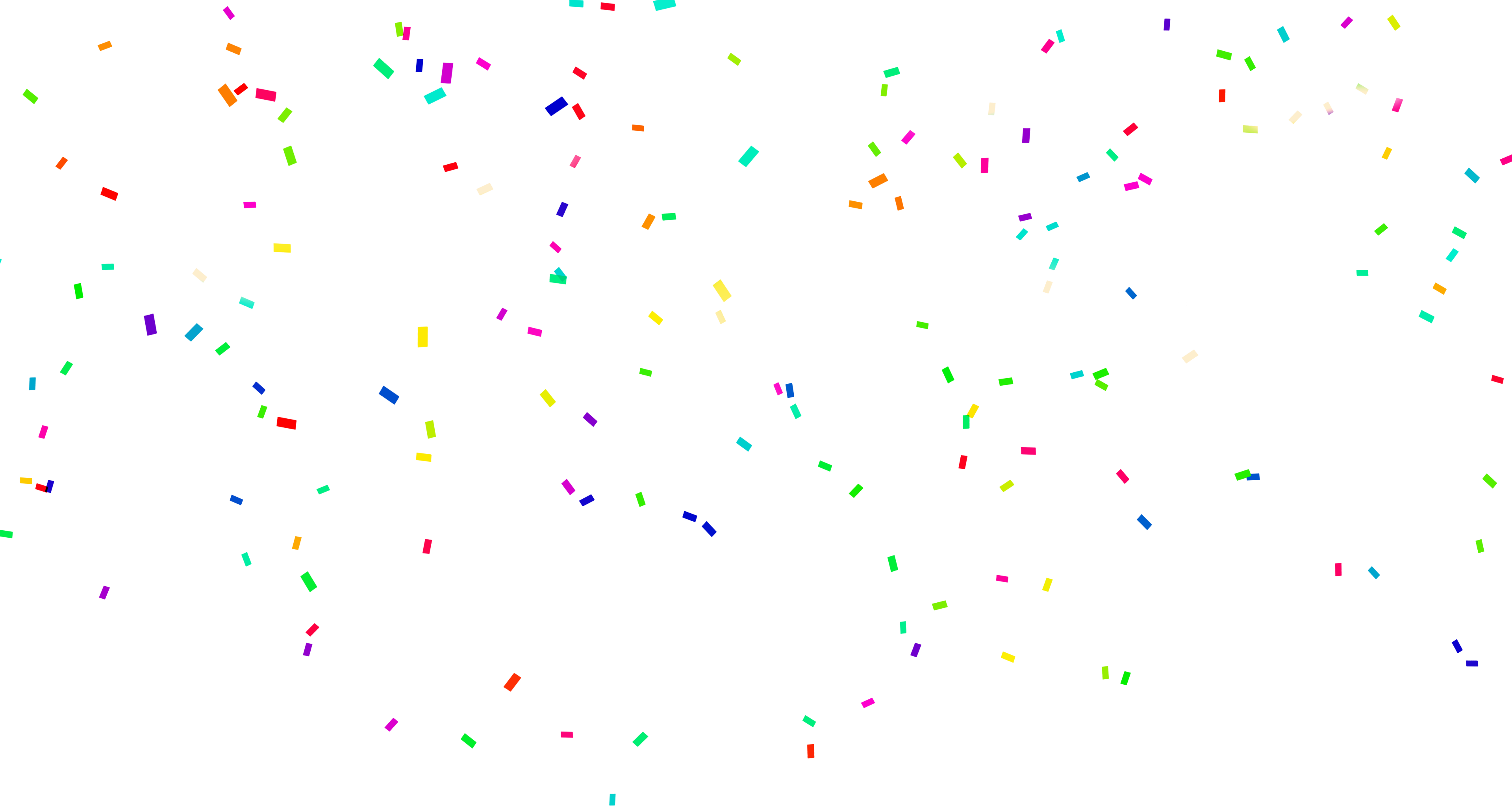 Download free png transparent. White clipart confetti