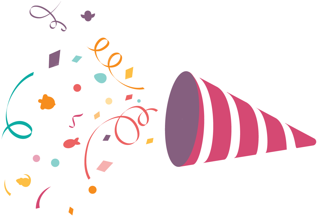 Party png images. Confetti transparent pictures free