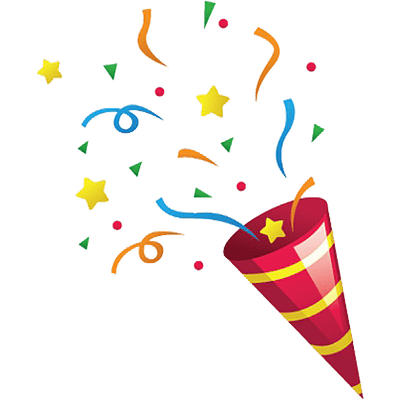 Confetti clipart small. Transparent free download best