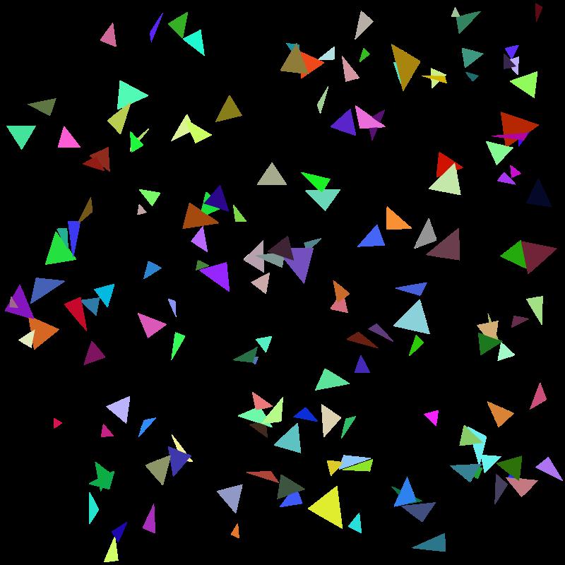 Confetti clipart sparse. Medium image png