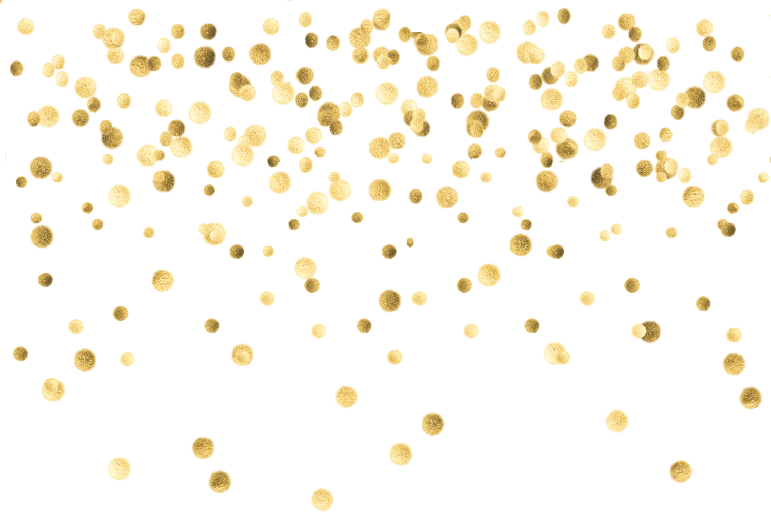 collection of gold. Confetti clipart sprinkles