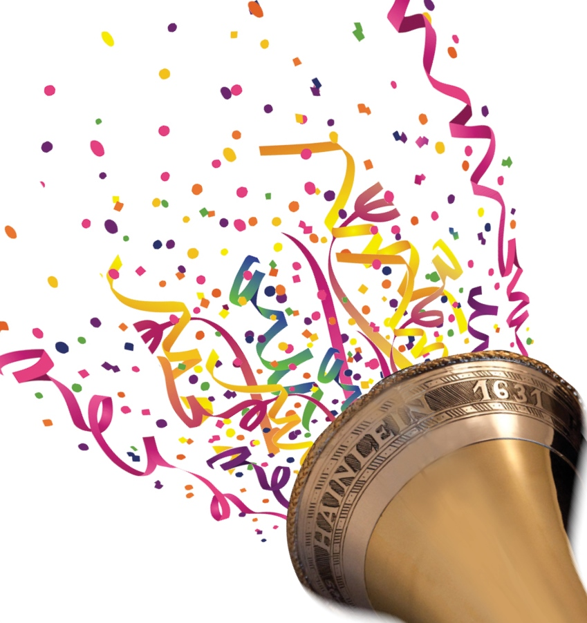 The berkshire bach society. Confetti clipart trumpet