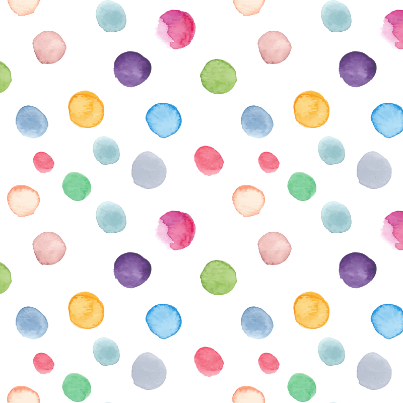 Dot clipart watercolor. Painting circle hand painted