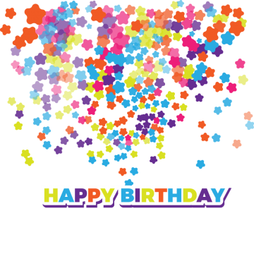 Colorful vectors psd and. Confetti vector png