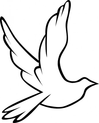 Free confirmation download clip. Dove clipart open wing
