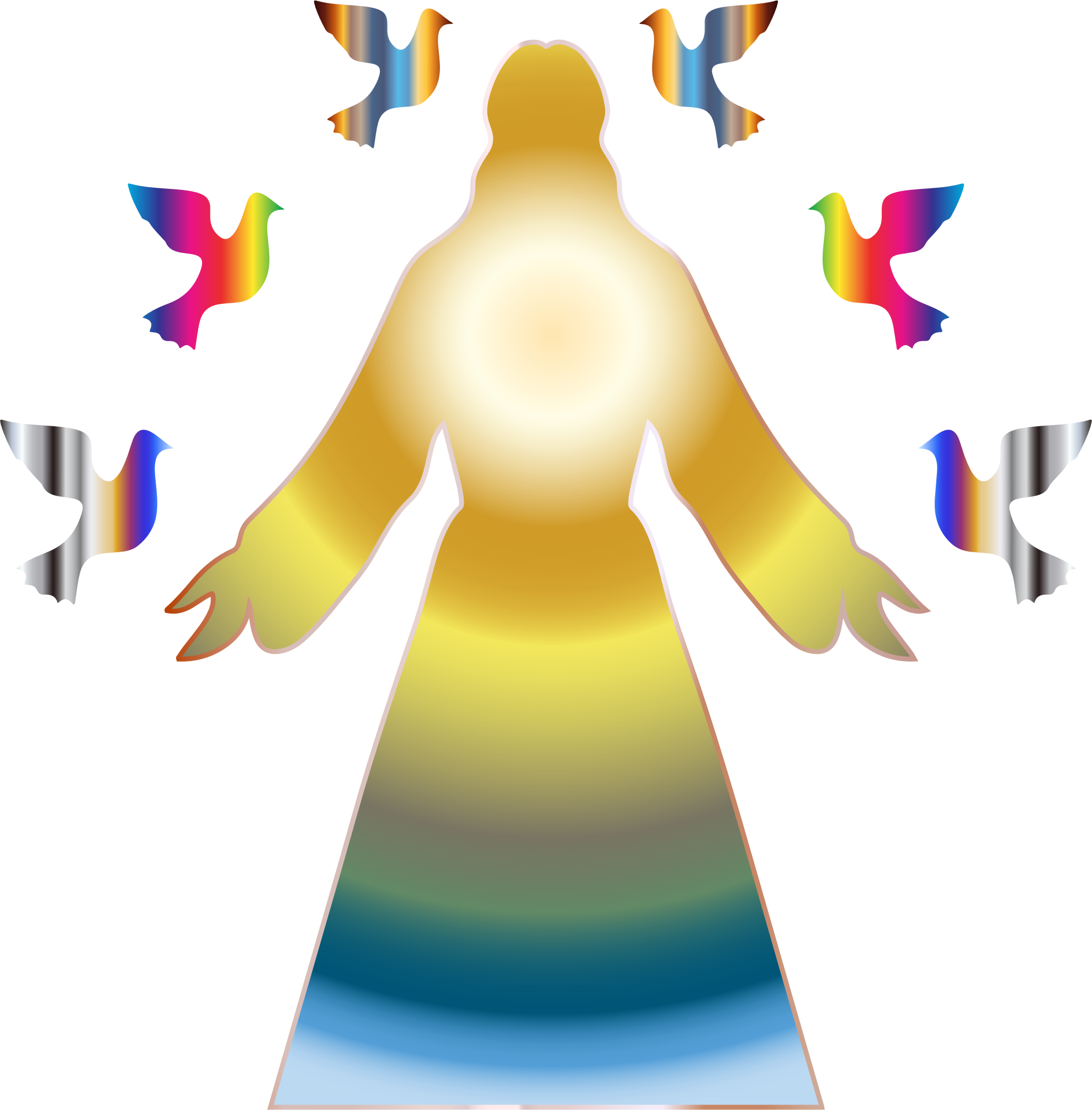 Christ prismatic glow free. Confirmation clipart jesus cross