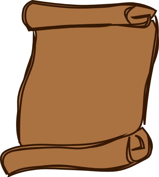 Clip art at clker. Confirmation clipart scroll