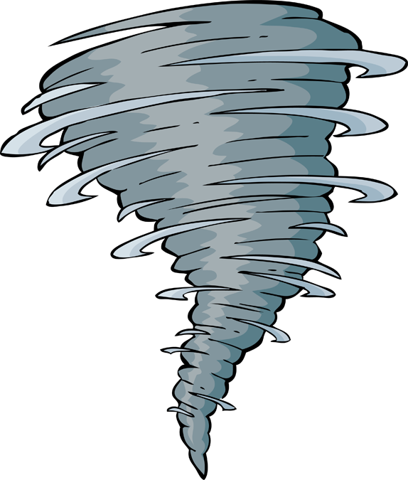 Tornado mile long touch. Hurricane clipart evacuation route
