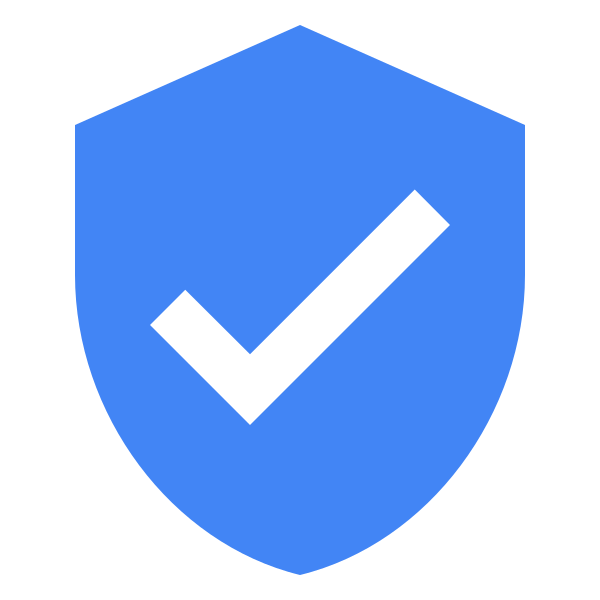 User shield check clip. Confirmation clipart verified