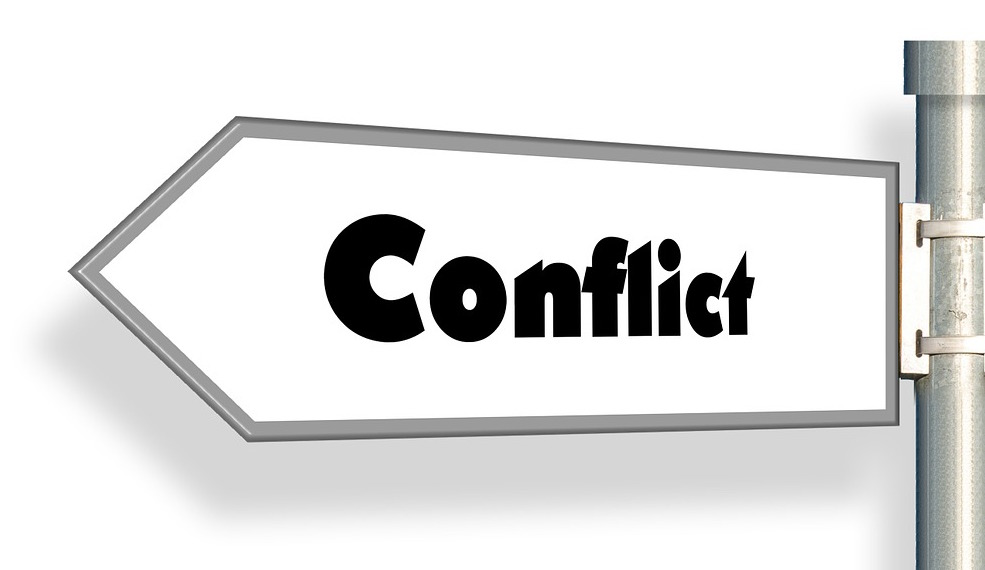 Why is a of. Conflict clipart