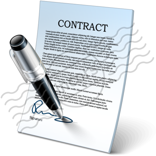 Contract panda free images. Conflict clipart agreement
