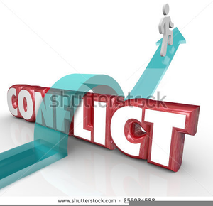 Conflict clipart approach. Avoidance free images at
