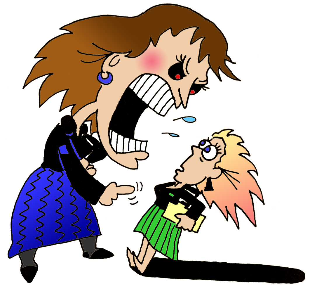 Workplace bullying scenarios and. Yelling clipart downward communication
