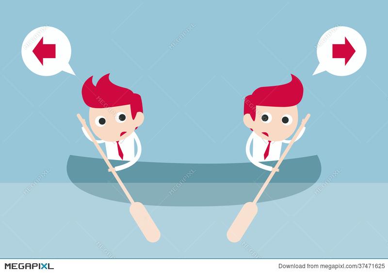 Conflict clipart business conflict. Illustration megapixl