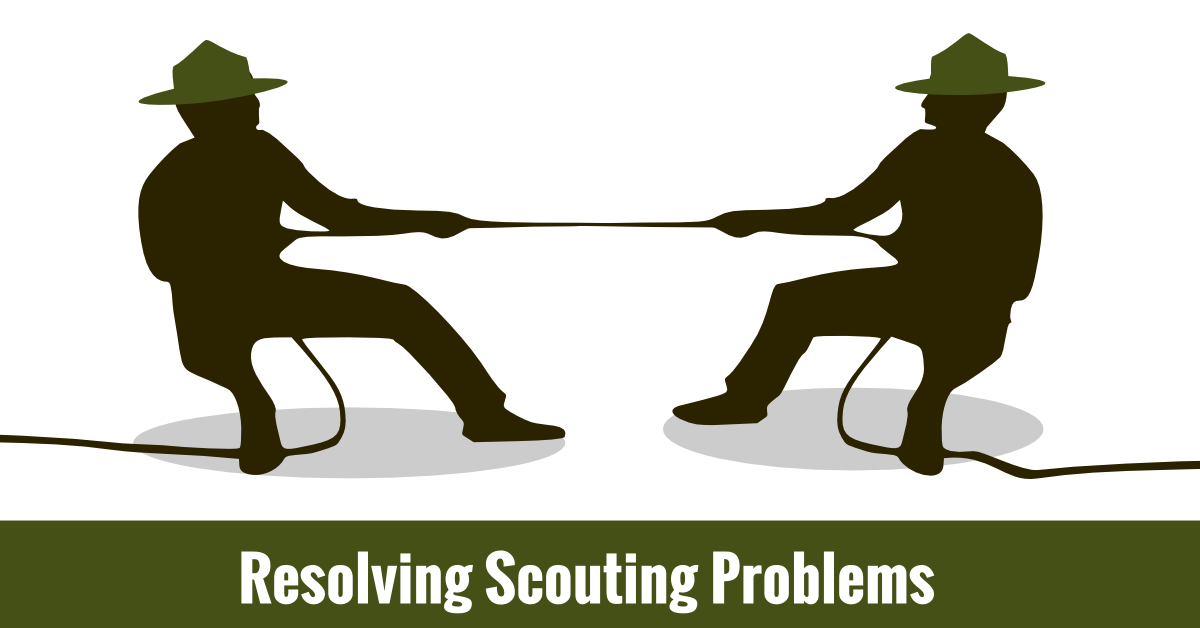 Resolving scouting problems scoutmastercg. Conflict clipart conflict management