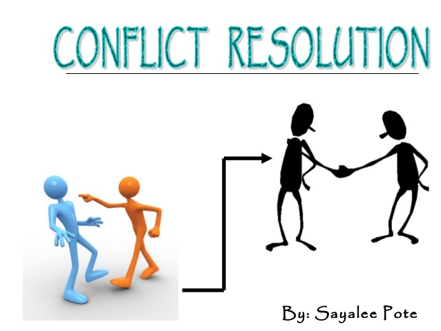 Conflict clipart conflict resolution.