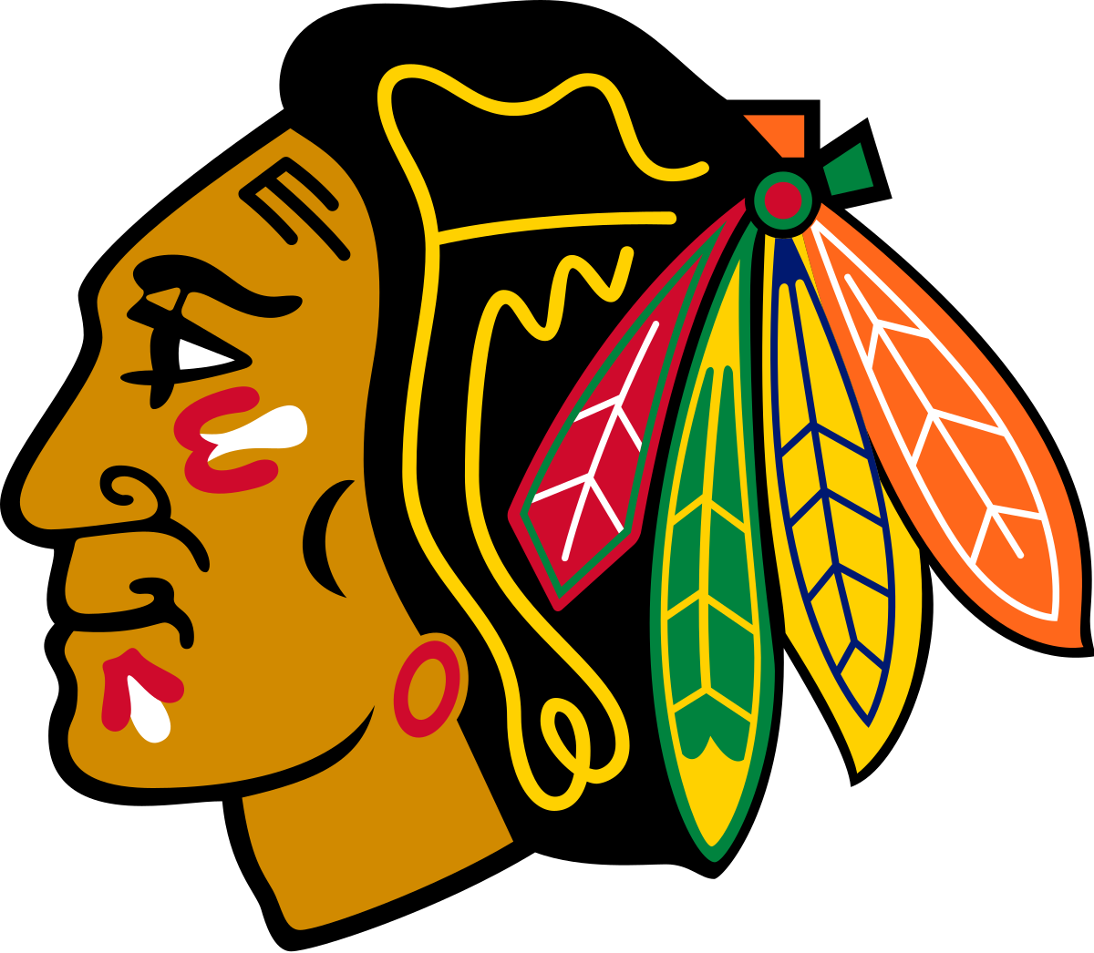Yelling clipart heads up. Chicago blackhawks wikipedia