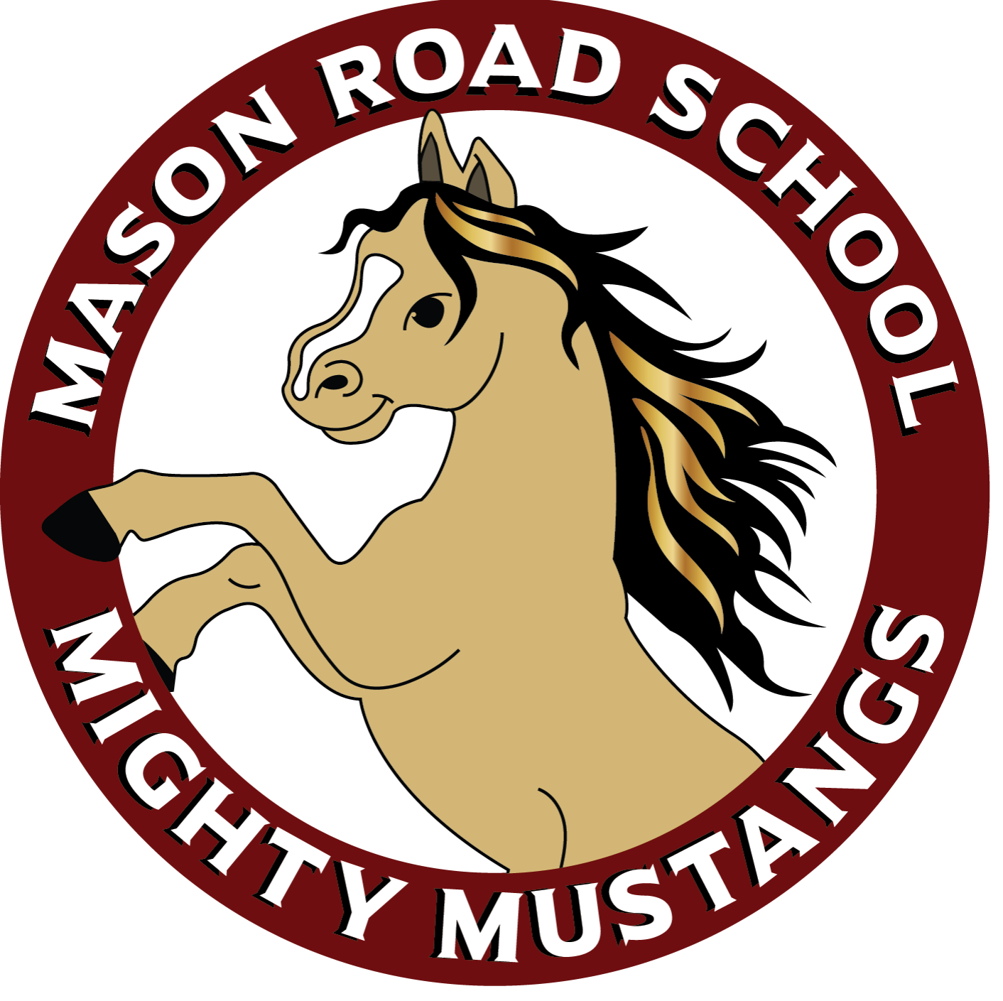 Dudley charlton regional district. Mustang clipart central middle school