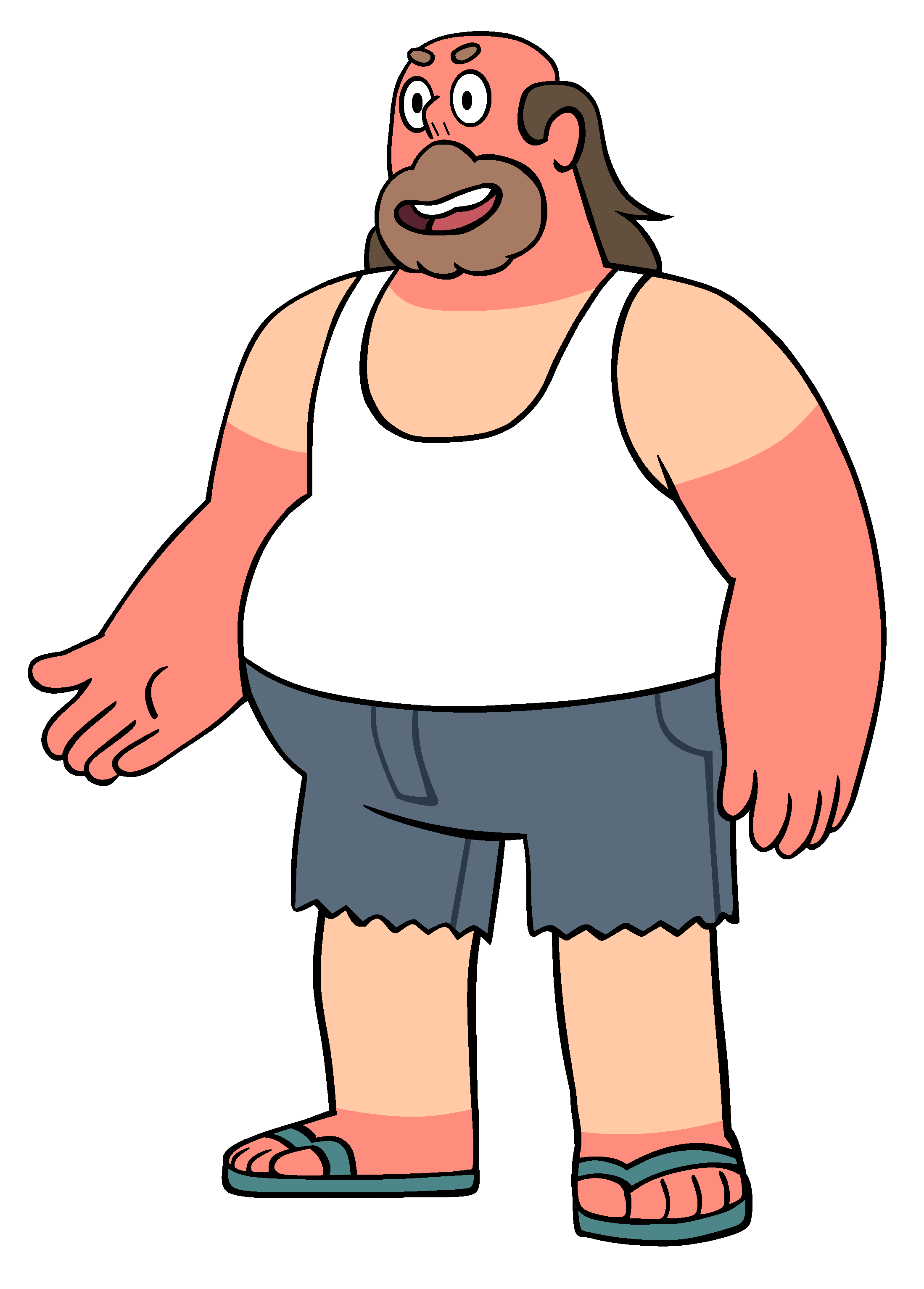 Manager clipart guy teacher. Greg universe steven wiki