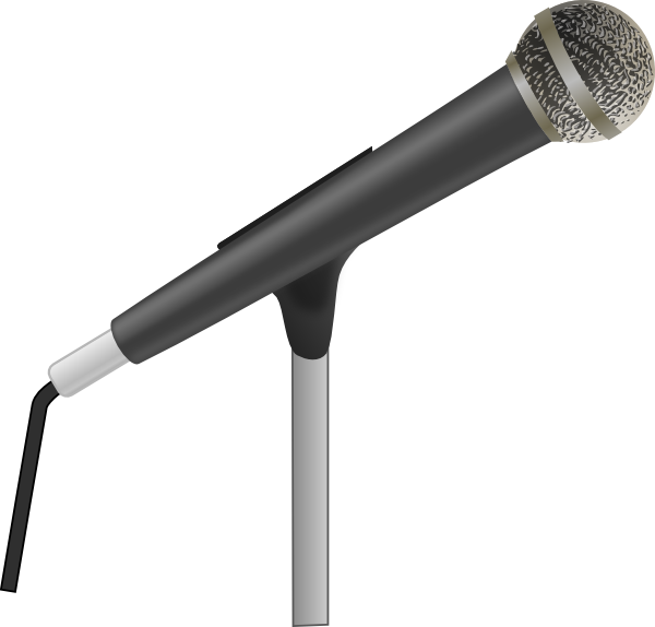 Hostility panda free images. Microphone clipart painting