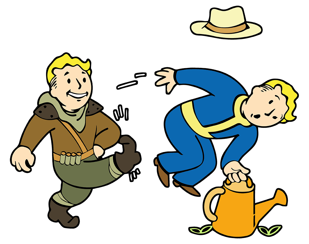 Mad clipart aggressive person. Shake down fallout wiki