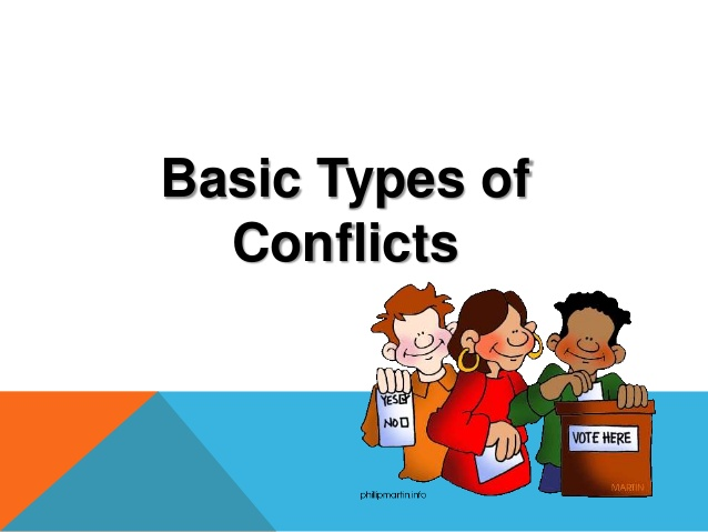 Identifying . Conflict clipart literary
