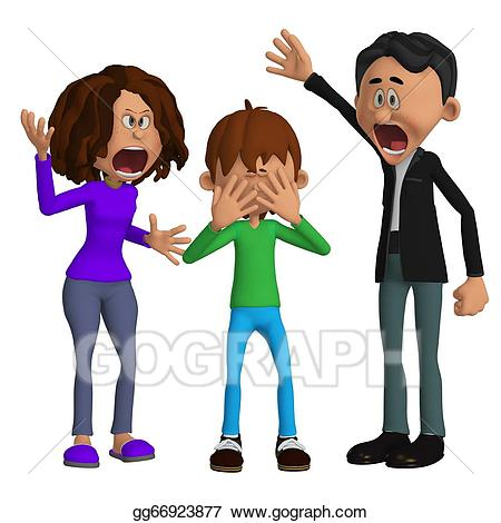 Conflict clipart mad friend. Parents angry with a