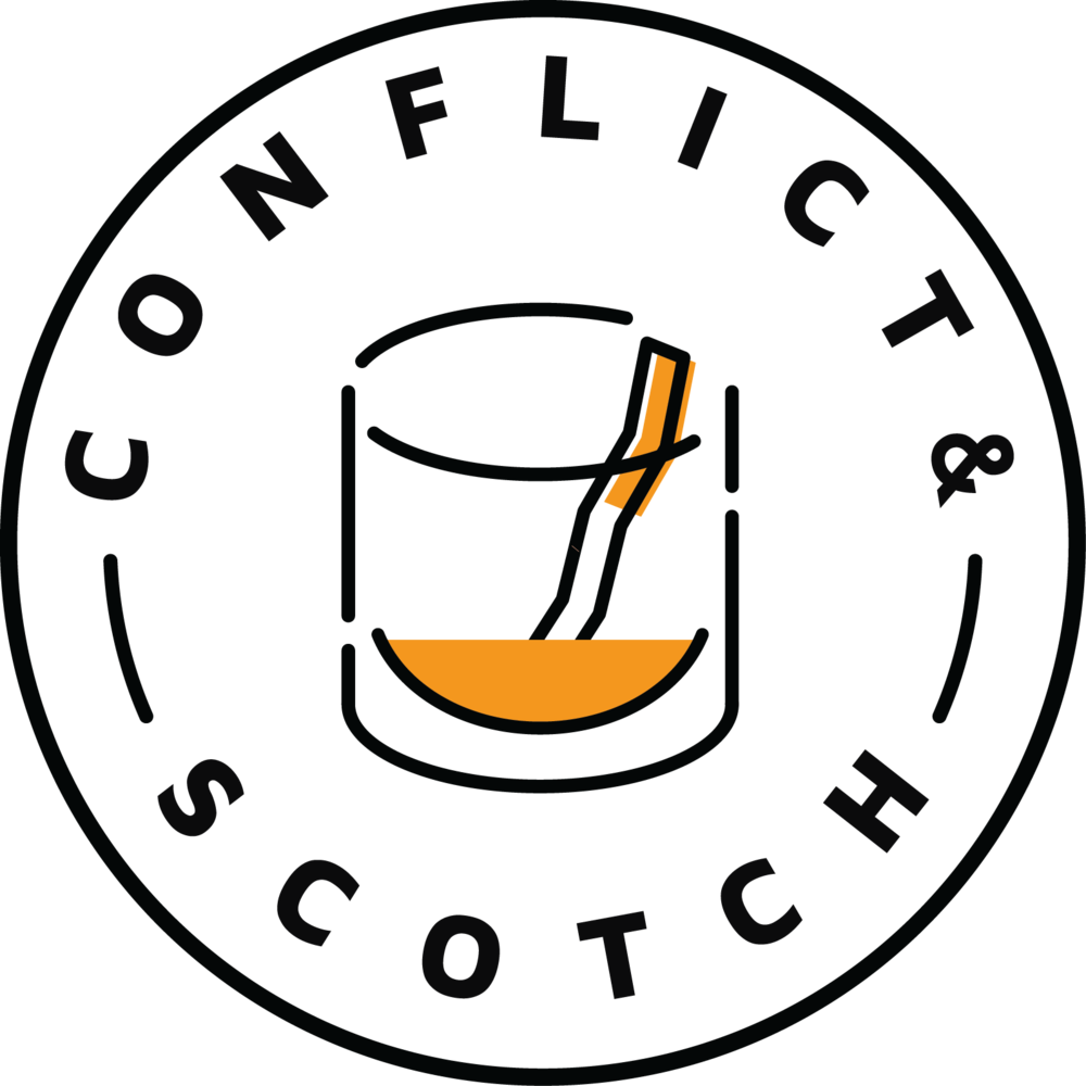 About and scotch . Conflict clipart mad friend