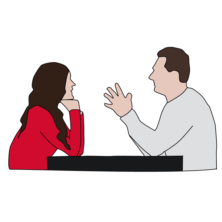 Conversation clipart two man. Working on your relationship