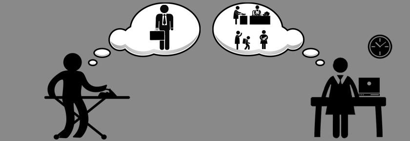 Gender about the men. Conflict clipart role conflict