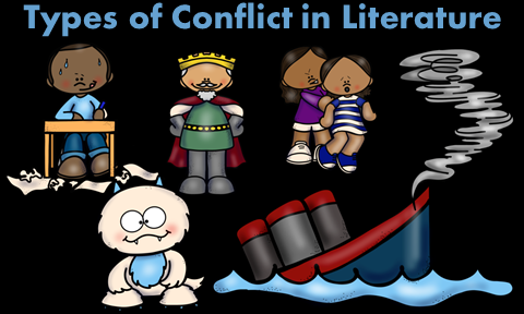 Conflict clipart society. Teaching conflicts in literature