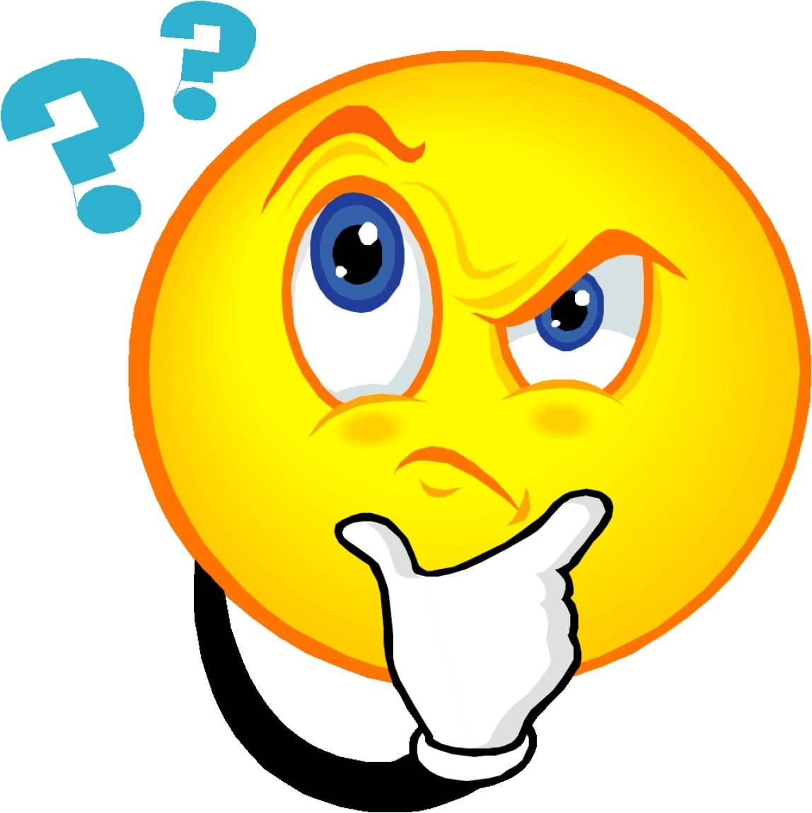 Confused clipart. New gallery digital collection