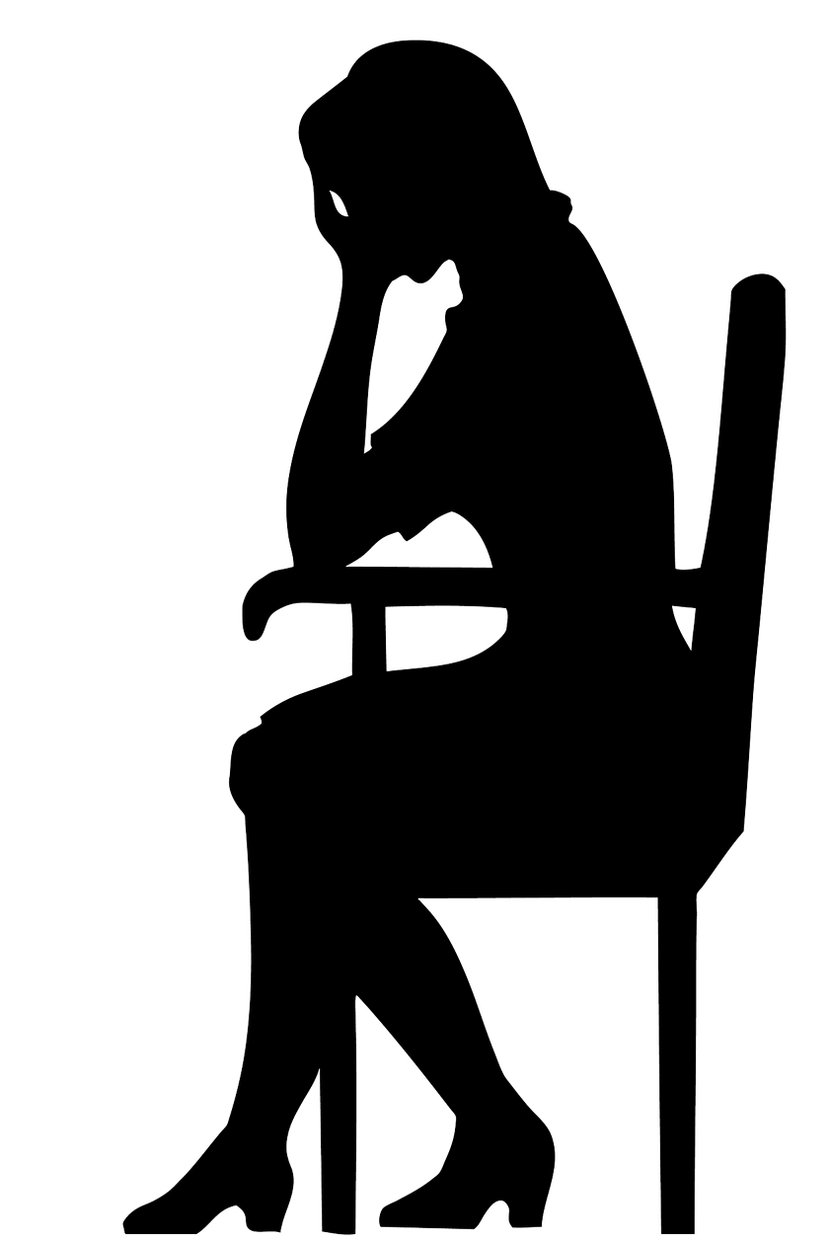 Thoughts of a woman. Yelling clipart nagging