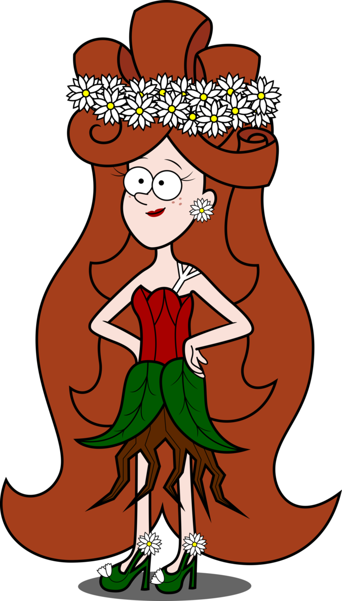 The queen of forests. Surprise clipart fright