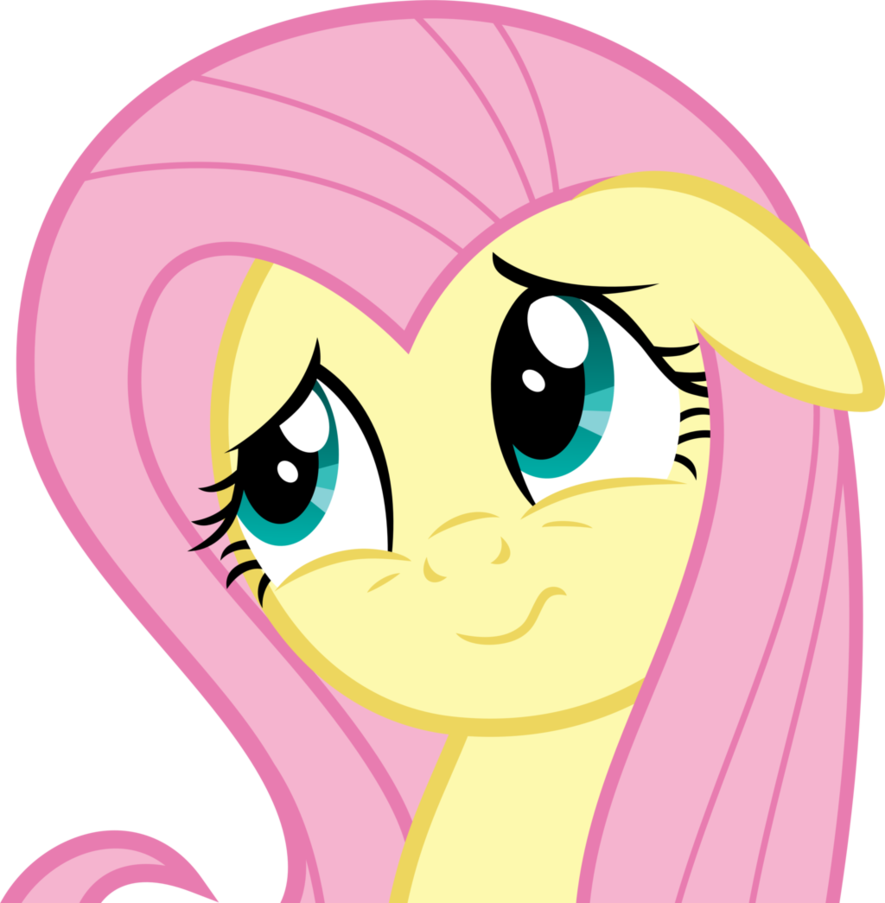 Confused clipart confused expression. Fluttershy s adorable face