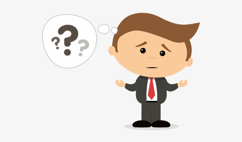 Confused clipart confused person. Png animated images